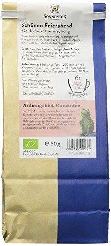Sonnentor Schönen Feierabend-Kräutertee lose, 1er Pack (1 x 50 g) – Bio - 3