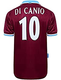Official Retro West Ham United 2000 No10 Di Canio Football Shirt 100%  POLYESTER 60a96198c