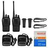 RFV1(tm) BF-888S UHF 400-470MHz CTCSS/DCS with Earpiece Handheld Amateur Radio Tranceiver Walkie Talkie