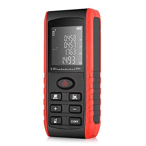 Télémètre laser 40m Inlife multimètre numérique