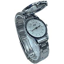 Reloj De Pulsera Braille para Invidentes o Personas Mayores Blanco Dial (para mujer)