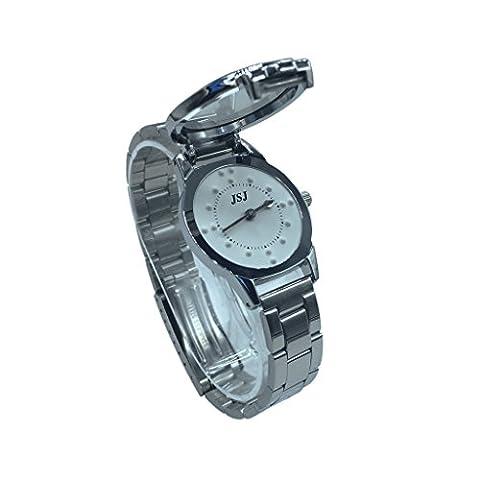 Blindenuhr taktile Armbanduhr für Sehbehinderte,Blinde oder ältere menschen (für Damen)