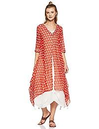 BIBA Cotton Bubble Hem Dress