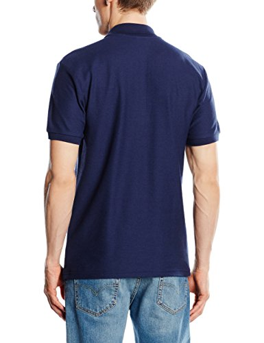 Fruit of the Loom Herren Poloshirt Blau - Blue (Navy Blue)