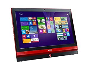 MSI AG240 2PE-R747116G1T0DB81MANT All-in-One 59,9 cm (23,6 Zoll) Desktop-PC (Intel Core-i7-4710HQ, 2,5GHz, 16GB RAM, 256GB SSD, Nvidia GTX 860M, Blu-ray, Win 8, Touchscreen) schwarz