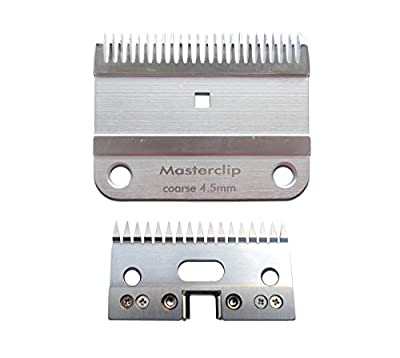 Masterclip A2 Horse Clipper Blade Coarse Cut 4.5mm - compatible with A2 Lister Clippers by Masterclip