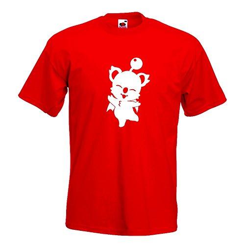 KIWISTAR - Kupo - Mog - Nuts T-Shirt in 15 verschiedenen Farben - Herren Funshirt bedruckt Design Sprüche Spruch Motive Oberteil Baumwolle Print Größe S M L XL XXL Rot