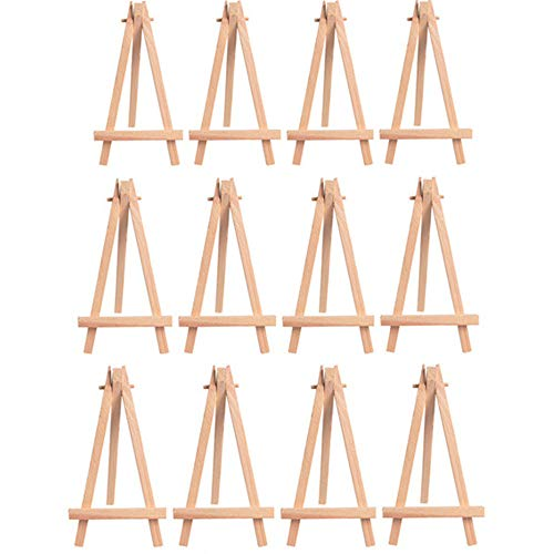 MUXItrade 12x Wooden Artists Easel Triangular Wedding Table Stand Display Card Holder