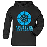 Cloud City 7 Portal Aperture Science Innovators Baby and Kids Hooded Sweatshirt