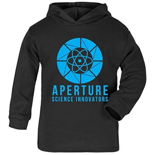 (Cloud City 7 Portal Aperture Science Innovators Baby and Kids Hooded Sweatshirt)