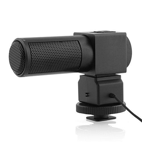 Takstar SGC-698 Richtrohrmikrofon Photografie Interview MIC Mikrofon für Nikon Canon kamera DV Camcorder