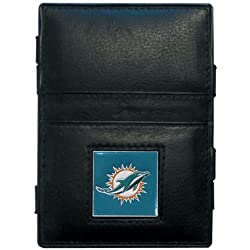 NFL Miami Dolphins Leather Jacob's Ladder Wallet