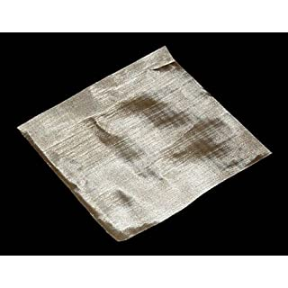 0.035mm Hole Size - Stainless Steel 316L - Cut Size: 15cmx15cm - 400 Mesh Count - Woven Wire Mesh by Inoxia