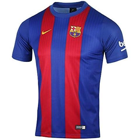 Nike FC Barcelona M Hm Supporters Tee - Camiseta de manga corta para hombre, color azul, talla M