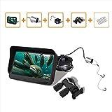 MEILI 720 P Fotocamera Subacquea Telecamera da 4.3 Pollici Monitor LCD 6 LED IR Visione Notturna Video Fish Finder 30M Cavo Visibile Fish Finder X3