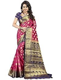 Nirja Creation cotton with blouse piece Saree