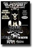 Danzig Poster - 1st Concert Skeletons II Lucifuge Tour