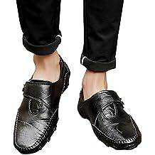 Zapatos para Hombre EUZeo Rebajas,Classic Loafer de Hombre Divertidas Mocasines Formales Vestir Zapatos de