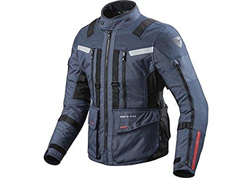 Revit SAND 3 Herren Motorrad Textiljacke Touring - dunkelblau schwarz