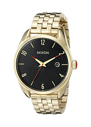 Nixon Women's A418510 Bullet Analog Display Analog Quartz Gold Watch