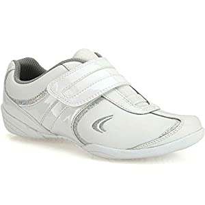 Clarks Girl's Leather Sports Shoes