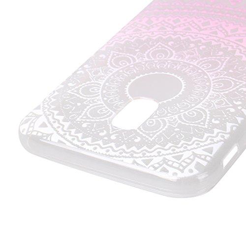 Étui Galaxy J3 2017, Coque Galaxy J3 2017, Moon mood® Transparente Protable Housse pour Samsung Galaxy J3 2017 Arrière Étui de Protection Souple TPU Silicone AntiChoc Cas Couverture Soft Case Bumper C Style -21