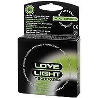 Technosex Love Light Leucht-Kondome - 3 Stk. preisvergleich bei billige-tabletten.eu
