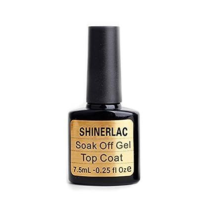 Shinerlac Top Coat Uv Led Nail Gel Polish Shellac Nails Soak Off