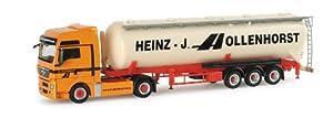 Herpa 154833 Man TGX XXL silo semirremolque Hollenhorst