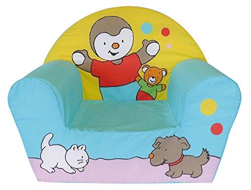 Fun House - 712186 - Ameublement Et Décoration - Fauteuil Club T'Choupi en mousse pour enfant