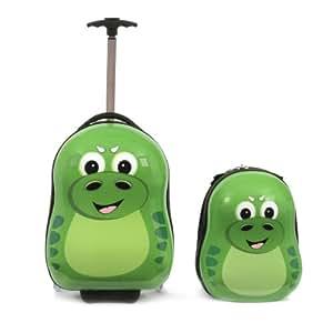 Brehme Valigia per bambini, Cuties, verde  verde, CU63191