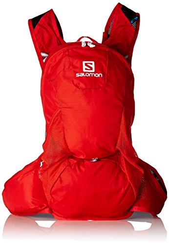 Salomon Trailrunning Rucksack (20 L), 48 x 24 x 15 cm, TRAIL 20, Rot (Bright Red), L37998000