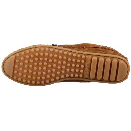 Minnetonka - Suede Ankle Boot, Stivali Mocassino da donna Marrone (Braun (Dustybrown))