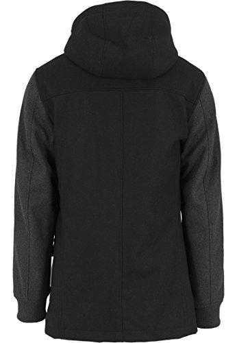 Urban classics veste à capuche contrastées Multicolore (Blk/Cha)