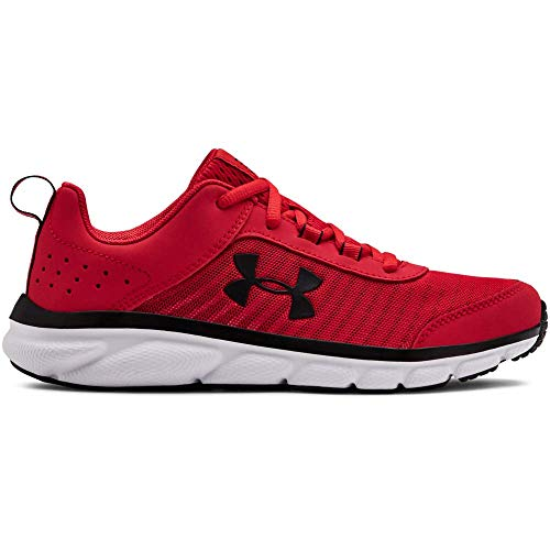 Under Armour Grade School Assert 8, Zapatillas de Running Unisex Niños, Rojo (Red/White/Black 601), 38 EU