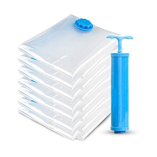 Aoory - flaconi spray vuoti in plastica trasparente per cosmetici, con imbuto set da 7 pezzi