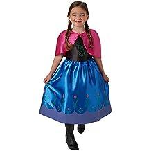 Frozen - Disfraz Anna classic infantil, 9-10 años (Rubie's Spain 620978)