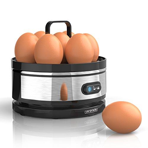 """Eier kochen: Arendo - Edelstahl Eierkocher mit Warmhaltefunktion """"Sevencook"""