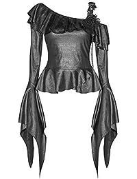 Ropa Amazon Camisetas Tops Brujas Y Mujer Las es Blusas rqwt8rOB
