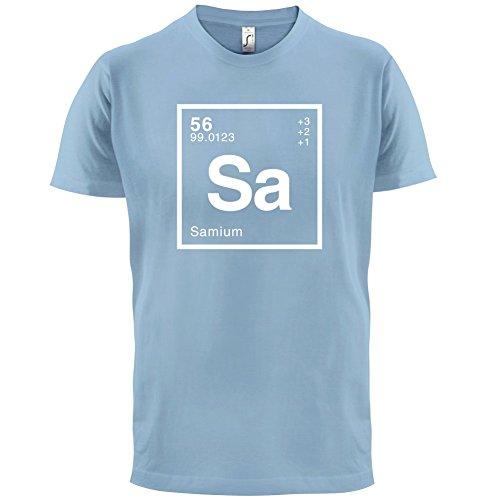 Sam Periodensystem - Herren T-Shirt - 13 Farben Himmelblau