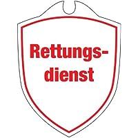 KLK Erwachsene Rettungsdienst Autoschild, Weiß, One Size preisvergleich bei billige-tabletten.eu