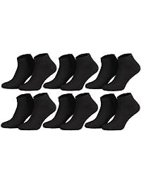 Tobeni 6 Paires Sneaker Chaussettes Courtes pour les Femme et les Homme