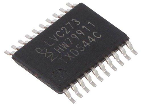 3x 74LVC273PW.112 IC digital D flip-flop, resetable Channels8 LVC SMD NEXPERIA