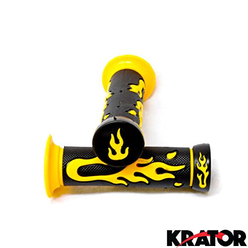 krator-sport-bike-and-dirt-bikes-motorcycle-flame-gel-style-hand-grips-yellow-color-aprilla-bmw-moto