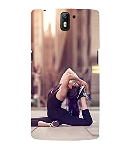 EPICCASE Fit and Fine Mobile Back Case Cover For OnePlus One (Designer Case)