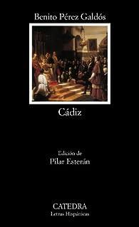 Cádiz par  Benito Pérez Galdós