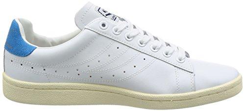 Superga Damen 4832 Efglu Sneaker Weiß (White Blue)