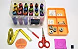 #6: Sewing Solution's - Multipurpose Tailoring Kit Essentials-1001- with Strong Organiser Box