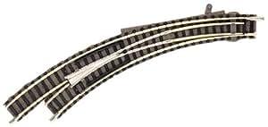 Aiguillage courbe gauche à commande manuelle Piccolo N Fleischmann 9168