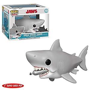 """Funko- Pop Vinilo 6"""" Jaws w/Diving Tank Figura Coleccionable, Multicolor (38567)"""